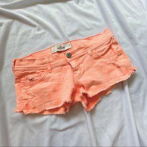 Hollister Orange Jean short